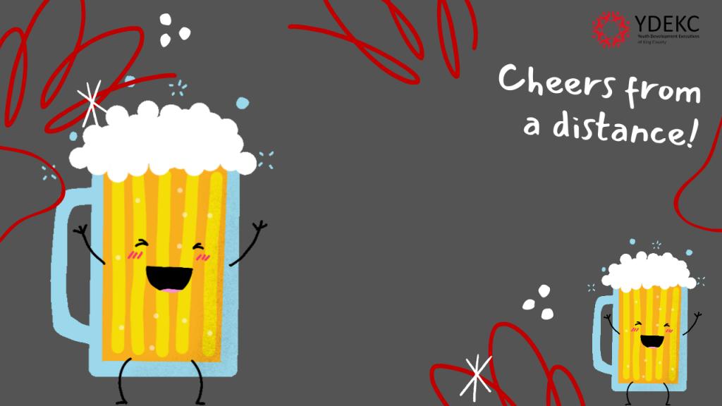 Beer virtual background