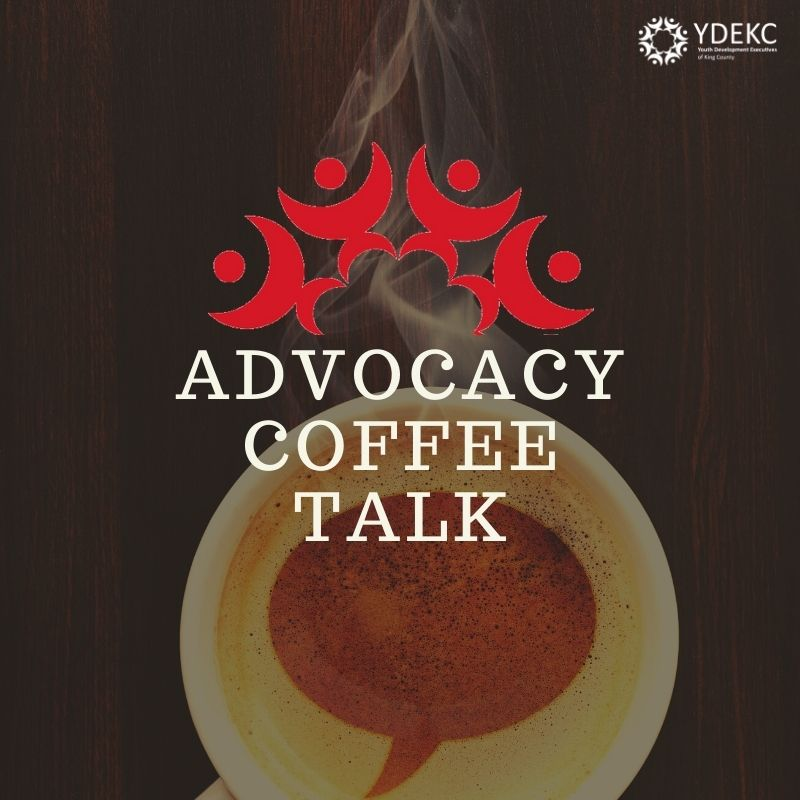Logo for Advocacy Coffee Talk