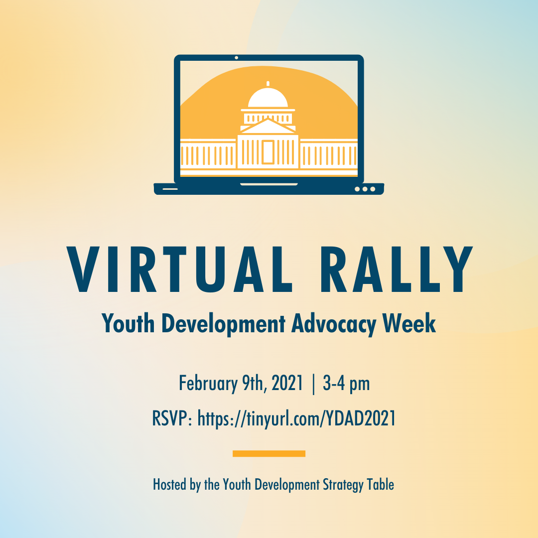 Flyer for Advocacy Week 2021