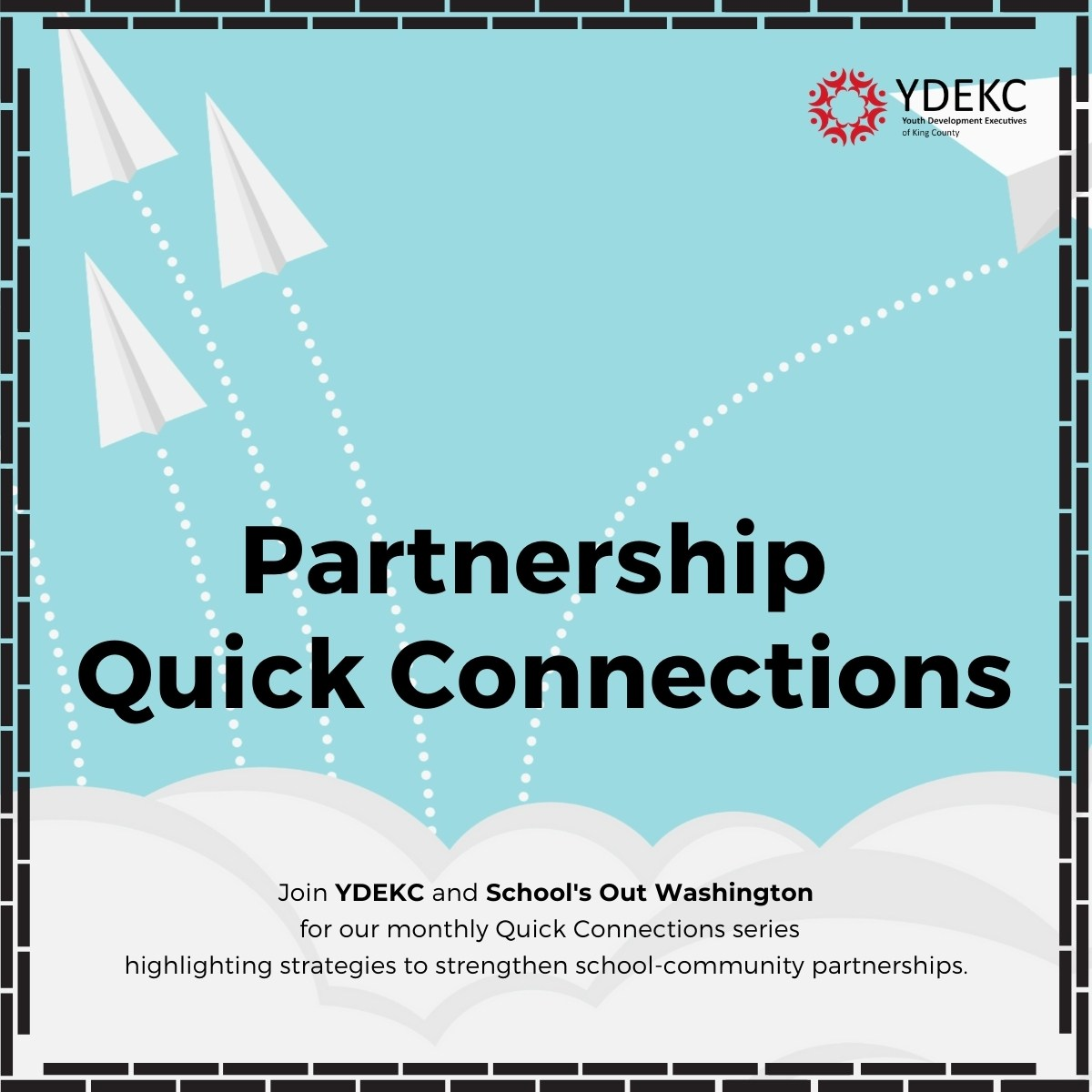 Flyer for Quick Connections event
