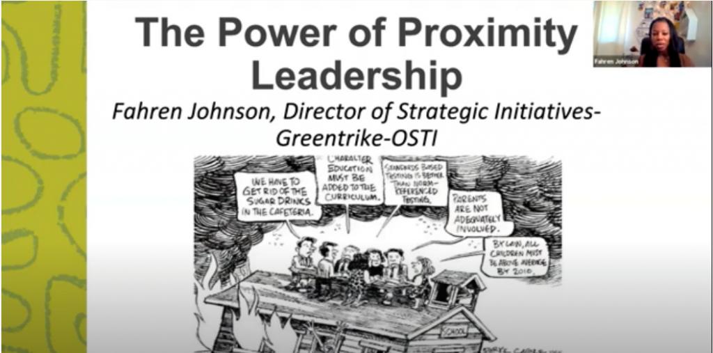The Power of Proximity Leadership (slide)