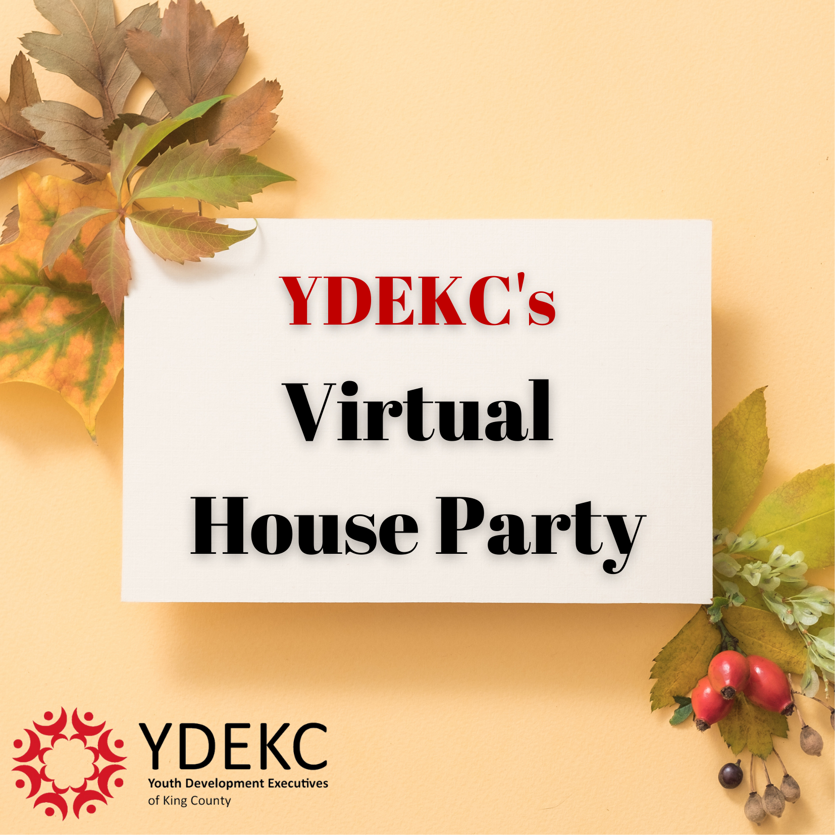 YDEKC's Virtual House Party